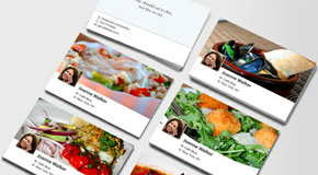 How about a Facebook Timeline Business Card ?