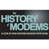 The History of the Modem [Infographic]