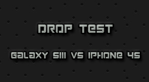 Samsung Galaxy SIII VS iPhone 4S Drop Test.