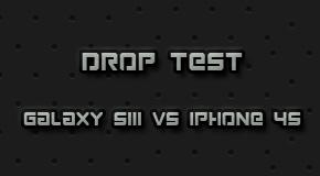 Samsung Galaxy SIII VS iPhone 4S Drop Test.