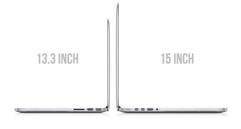 13.3 inch Macbook Pro Retina