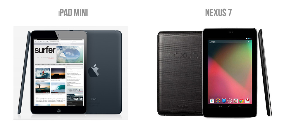 iPad Mini vs Nexus 7: The Seven Inch Deathmatch