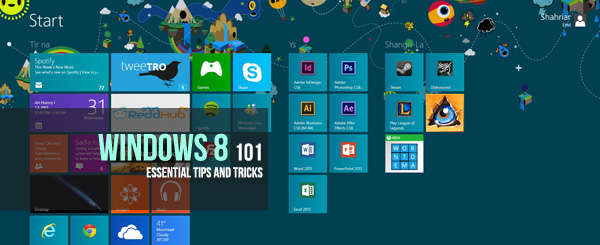 Windows 8 101: Essential Tips and Tricks