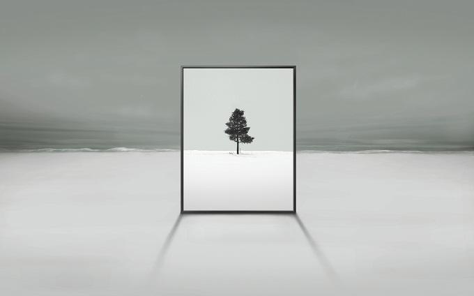 Samsung Potrait TV