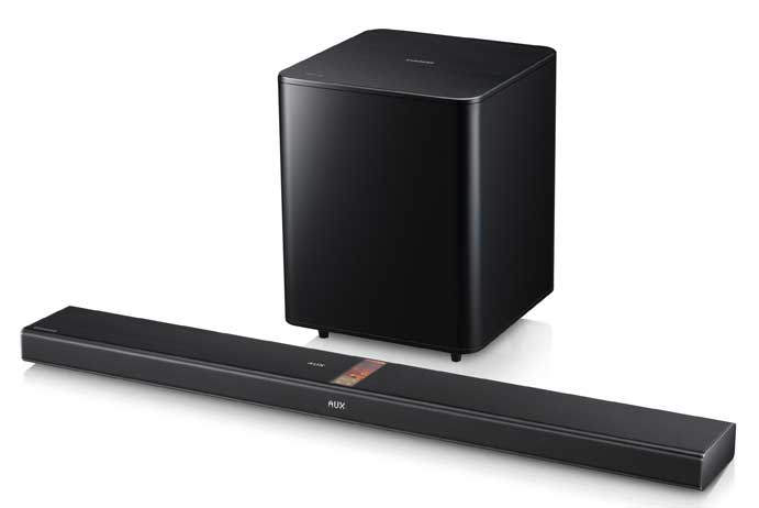 Vacuum Tub Sound Bar