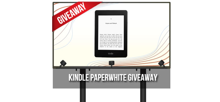 Gadget Giveaway: Amazon Kindle Paperwhite