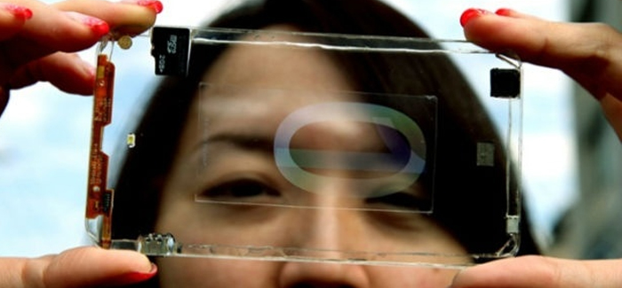Polytron demonstrates First Prototype of a Transparent Smartphone