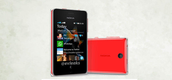 Nokia Asha 500 press shot leaked ahead of announcement