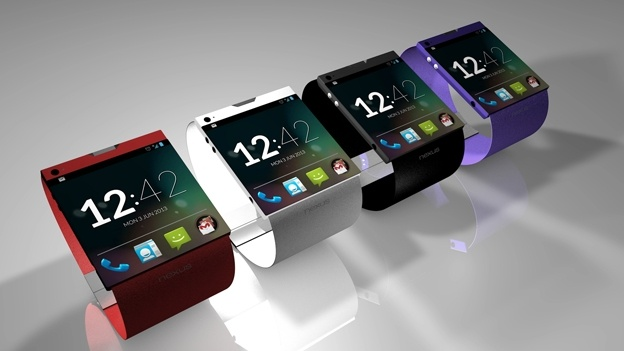 Google Smartwatch Render