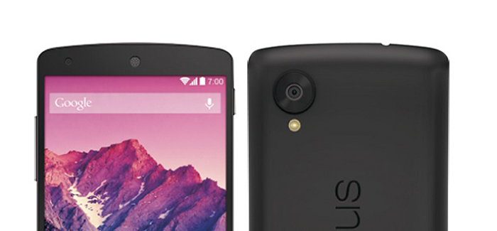 One more Google Nexus 5 press render leaked