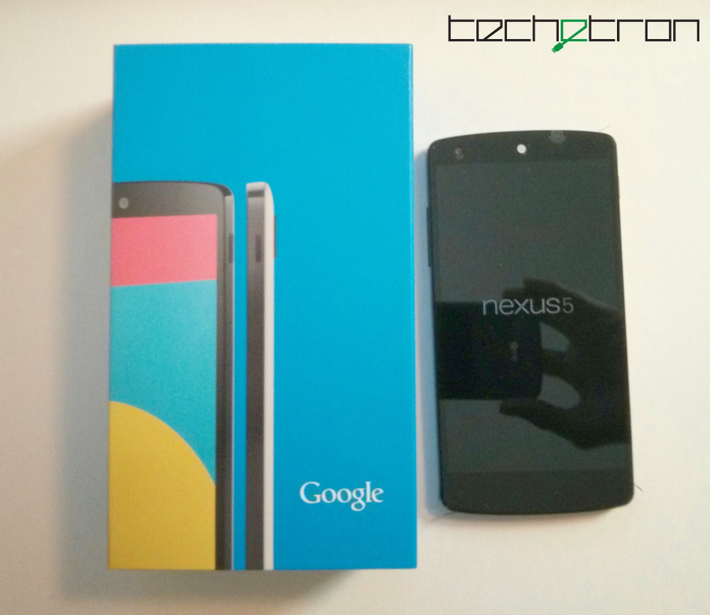 Google Nexus 5 Hands on Review