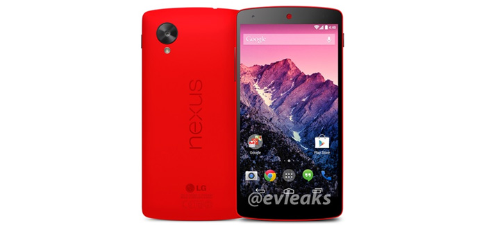 Nexus 5 in Red!