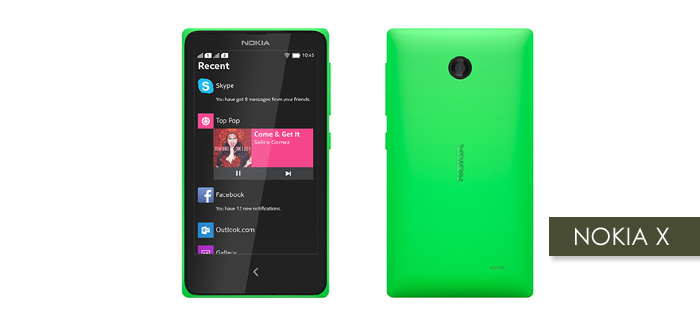 Nokia's Android Version, Nokia X finally unveiled in MWC
