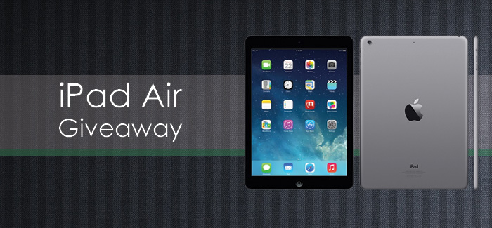 Enter to win an iPad Air!