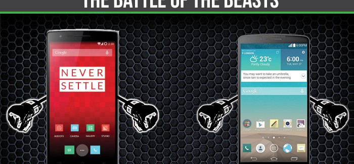 OnePlus One vs LG G3: The Battle of the Beasts
