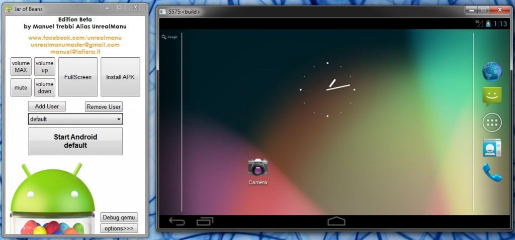 exe emulator for android tablet