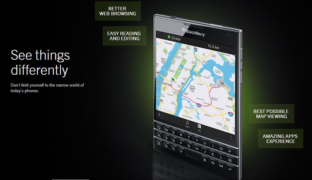 Blackberry Passport: First Impressions