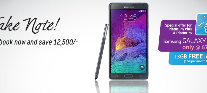 Galaxy Note 4 Available For Pre-Order NOW In Bangladesh!