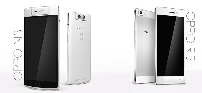 Deadly Duo: Oppo Reveals The N3 & A Crazy Thin Phone