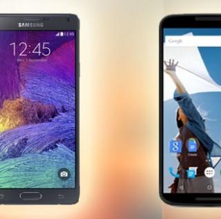 Galaxy Note 4 vs Nexus 6: A quick rundown on specs