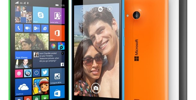 Microsoft Lumia 535 officially launched in India for $150