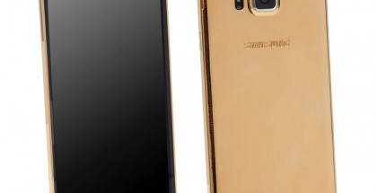 Gold Samsung Galaxy Alpha