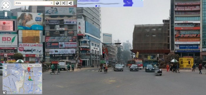 Google Street View: Bangladesh in Google's lens