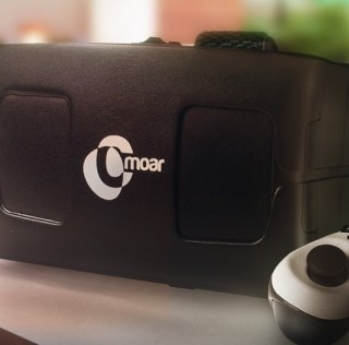Cmoar: Smartphone powered virtual reality headset now at Kickstarter