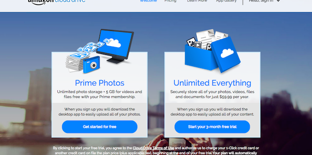 Amazon offers unlimited cloud storage cheaper than competitors