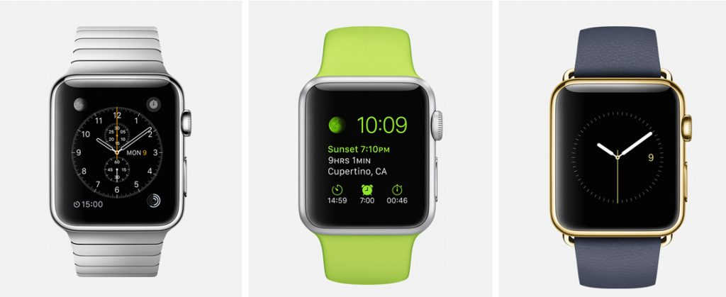 Apple Watch user interface