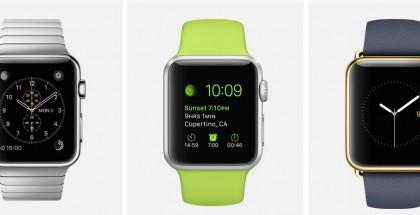 Apple Watch user interface