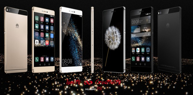 Huawei announces P8 and P8 Max