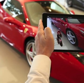 Ferrari app lets you modify car in augmented reality