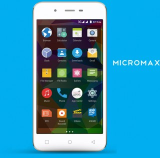 Micromax unveils Canvas Spark running on Lollipop for $79