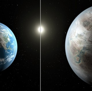 Kepler 452B and Earth