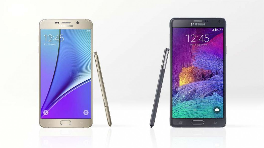 Galaxy Note 5 vs Galaxy Note 4