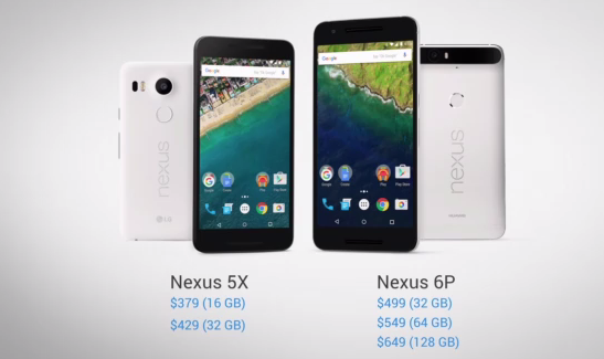 Nexus5X6PAnnounced