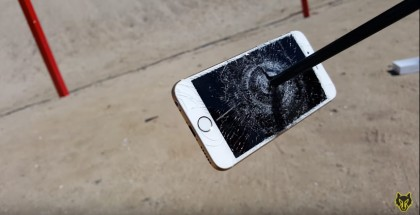 Torturing iPhone 6S