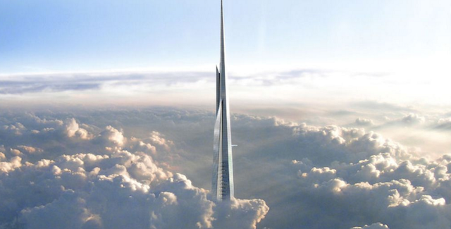 The One Kilometer Tall Building