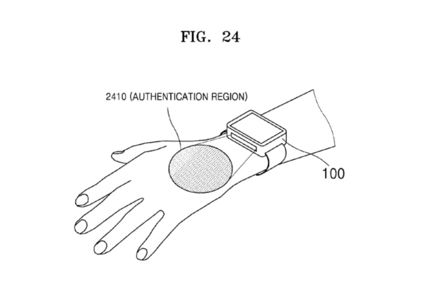 Samsung Files Patent for a Smartwatch That Scans...Veins