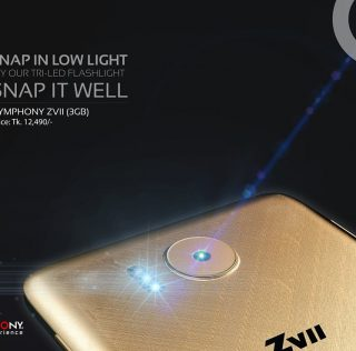 Symphony ZVII unveiled with a 3GB RAM & 3000mAh battery
