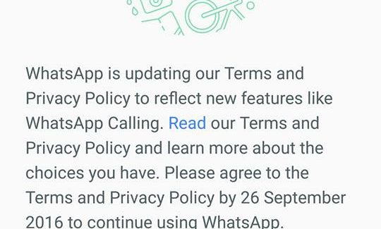 How to stop WhatsApp from sharing your information with Facebook
