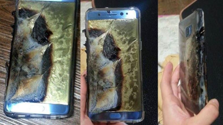 Note 7 Explosion
