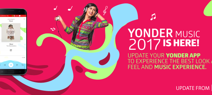 Robi Yonder, the Spotify of Bangladesh, shuffles up with a new design