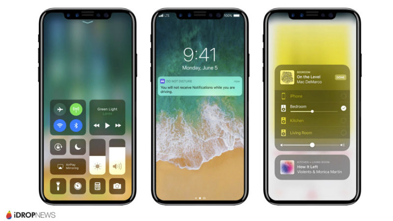 This Is How The IPhone 8 Might Look With IOS 11