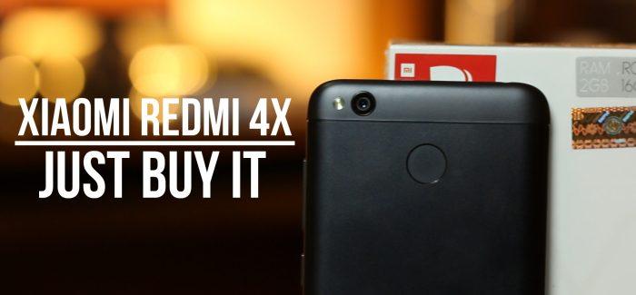 Xiaomi Redmi 4X Review (Redmi 4 In India)-Buy It