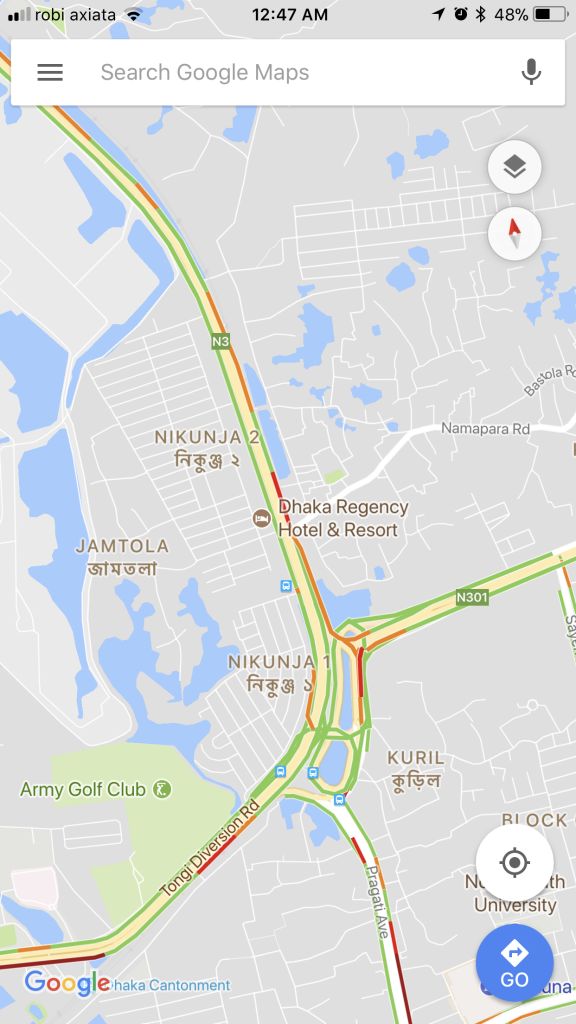 Real-Time Traffic Update in Bangladesh is LIVE in Google Maps