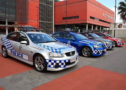 Hi Tech Police Cars