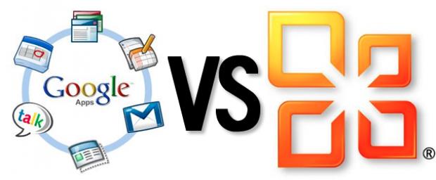 Googls Apps vs Microsoft