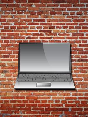 Behind Brick Wall